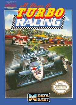 Box artwork for Al Unser Jr. Turbo Racing.