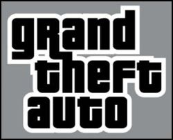 The logo for Grand Theft Auto.