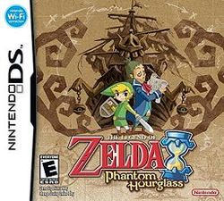 Box artwork for The Legend of Zelda: Phantom Hourglass.