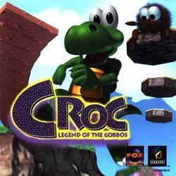 Box artwork for Croc: Legend of the Gobbos.