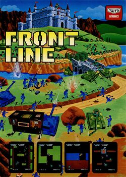 Box artwork for Front Line.