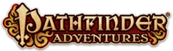 Box artwork for Pathfinder Adventures.