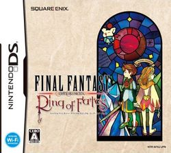 Box artwork for Final Fantasy Crystal Chronicles: Ring of Fates.