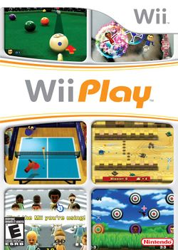 Box artwork for Wii Play.