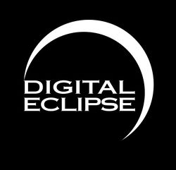 Digital Eclipse's company logo.