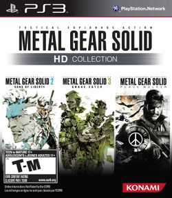 Box artwork for Metal Gear Solid HD Collection.