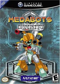 Box artwork for Medabots Infinity.