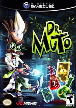 Box artwork for Dr. Muto.