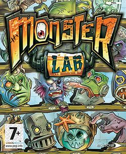 Box artwork for Monster Lab.
