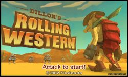 Box artwork for Dillon's Rolling Western.