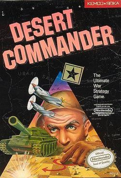 Box artwork for Desert Commander.
