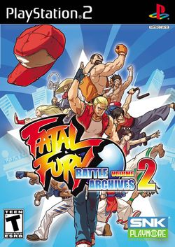 Box artwork for Fatal Fury Battle Archives 2.