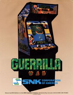 Box artwork for Guerrilla War.