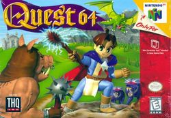 Box artwork for Quest 64.