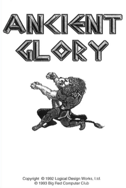 Box artwork for Ancient Glory.