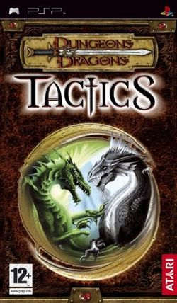 Box artwork for Dungeons & Dragons Tactics.