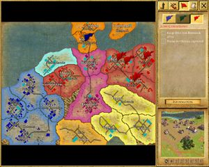 Empire earth iiblood and iron strategywiki the video game the strategic map gumiabroncs Images
