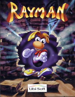 Box artwork for Rayman.