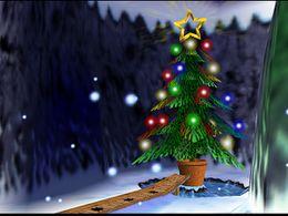 Urn Christmas Tree