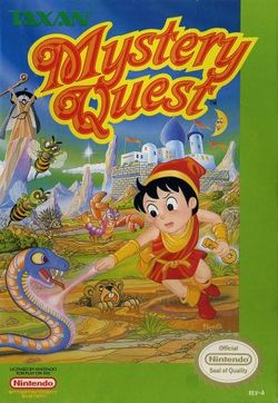 Box artwork for Mystery Quest.