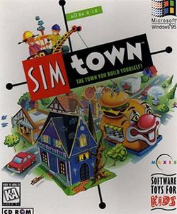 Box artwork for SimTown.