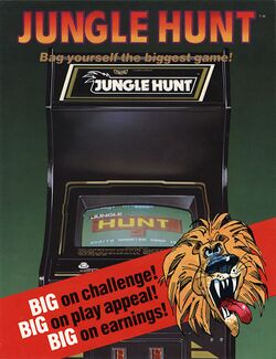 Box artwork for Jungle Hunt.