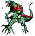 LoZ OOT enemy Lizalfos art.png