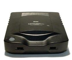 The console image for Neo Geo CD.