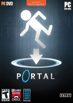 Box artwork for Portal.