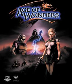 Box artwork for Age of Wonders.