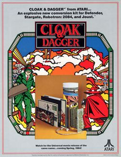 Box artwork for Cloak & Dagger.