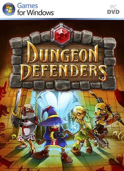 Box artwork for Dungeon Defenders.