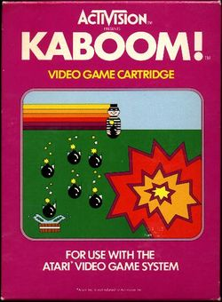 Box artwork for Kaboom!.