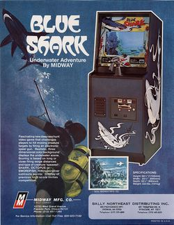 Box artwork for Blue Shark.