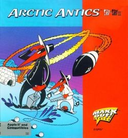 Box artwork for Spy vs. Spy III: Arctic Antics.
