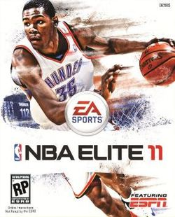 Box artwork for NBA Elite 11.