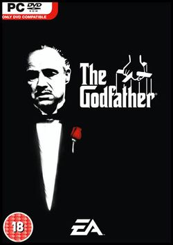 Box artwork for The Godfather: The Game.
