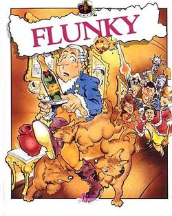 Box artwork for Flunky.