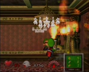 Luigi S Mansion Area 2 Strategywiki The Video Game