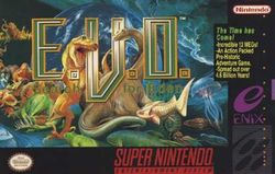 Box artwork for E.V.O.: Search for Eden.