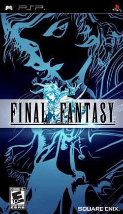 Box artwork for Final Fantasy Anniversary Edition.