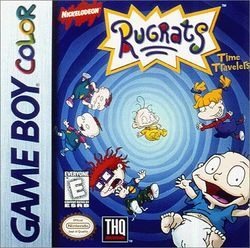 Box artwork for Rugrats: Time Travellers.