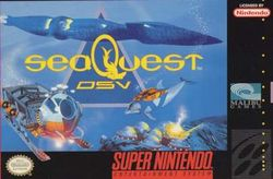 Box artwork for seaQuest DSV.