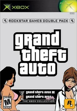 Box artwork for Grand Theft Auto Double Pack.