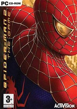 Box artwork for Spider-Man 2.