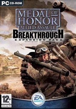 Box artwork for Medal of Honor: Allied Assault - Breakthrough.