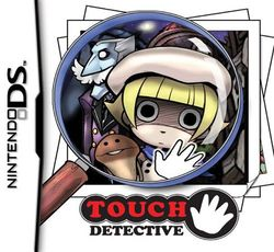 Box artwork for Touch Detective.