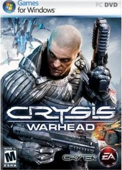 Box artwork for Crysis Warhead.
