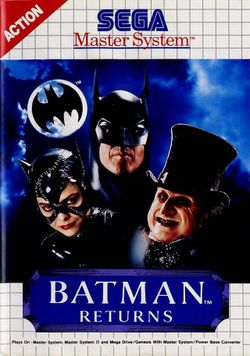 Box artwork for Batman Returns.