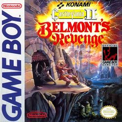 Box artwork for Castlevania II: Belmont's Revenge.